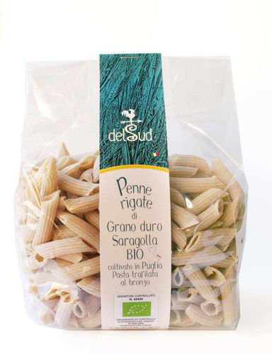 Organic Pasta of SARAGOLLA wheat